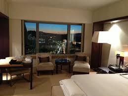 hotel barcelone dans la chambre chambre avec vue sur la tour telefonica photo de hotel arts