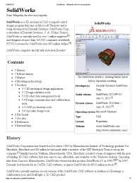 solidworks wikipedia the free encyclopedia application