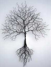 wall ideas design temporary solution metal tree wall