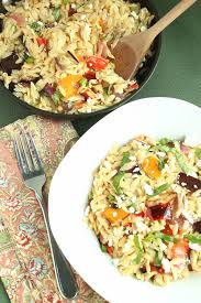 Ina Garten Salad Recipes by Ina Garten U0027s Orzo With Roasted Vegetables