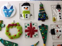 fused glass ornaments visarts