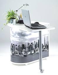 bureau informatique blanc laqué bureau informatique blanc bureau informatique gain de place york