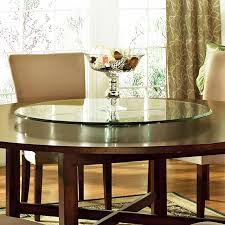dining room table with lazy susan steve silver avenue 40 inch glass lazy susan hayneedle