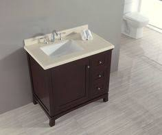 Wyndham Collection Berkeley  In Vanity In White With Marble - Kimberly 36 single sink bathroom vanity set