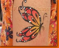butterfly arm design paint schmink painting