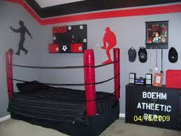 Boys Bedroom Decorating Ideas Sports For Good Boys Sports Bedroom - Sports kids room