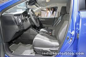 2018 toyota auris hybrid front seats at iaa 2017 indian autos blog
