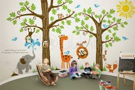 Kids Room Wall Painting Ideas by Kids Room 25 Fantastic Jungle Inspired Kids Room Designs Jungle