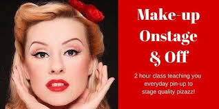 makeup classes arizona make up onstage tickets sat feb 3 2018 at 2 30 pm
