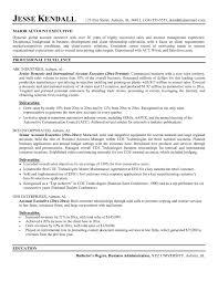 account executive resume resume templates advertising account executive account executive