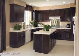 Kitchen Cabinets With Island Kitchen Open Island Simple Cabinet For Apartment Adorable