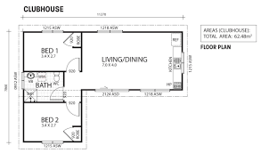 granny flat floor plan clubhouse two bedroom granny flat backyard shacks ranbuild