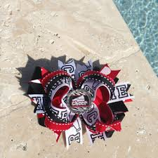 african american cheer hair bows best red and white cheer bows products on wanelo