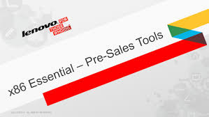 x86 essential u2013 pre sales tools ppt download