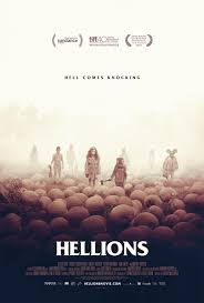 the horrors of halloween new hellions pumpkin patch poster