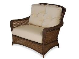 Replacement Cushions For Wicker Patio Furniture - furniture appealing dark wicker chair cushions for elegant patio