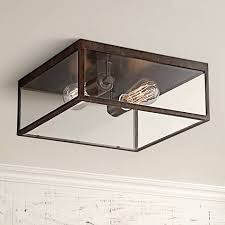 Square Ceiling Light Fixture by Montesidro 12