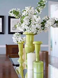 Vase And Candle Centerpieces by Beautiful Flowers And Candles Centerpieces To Romanticize Table