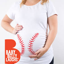 baseball maternity shirt funny maternity tshirt baseball mom