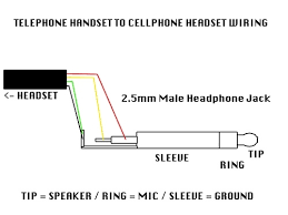 2 5 headset wiring diagram 2 wiring diagrams instruction