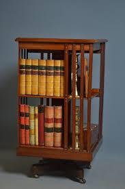 Revolving Bookcases Edwardian Revolving Bookcase Antiques Atlas