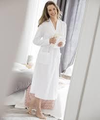 etam robe de chambre peignoir nid d abeille etam avec robe de chambre maille nid d