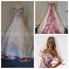 pink camo wedding gowns camo and pink wedding dresses camo wedding dresses brides in