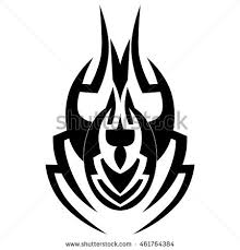 design spider tattoo tribal stock images royalty free images