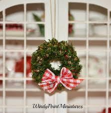 156 best miniature wreath images on dollhouses