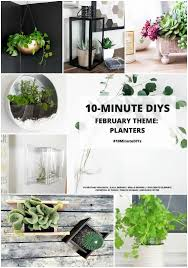 diy stainless steel bowl hanging planter ikea blanda blank