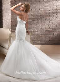 trumpet wedding dress with corset back popular wedding dress 2017