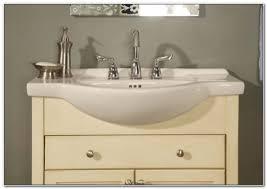 Narrow Depth Bathroom Sinks 15 Inch Depth Bathroom Sink Sinks And Faucets Home Design