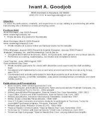 sample resume career change objective