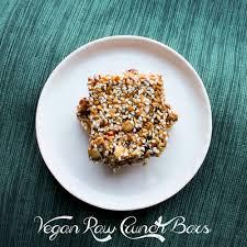 vegan raw crunch bars quiche a week