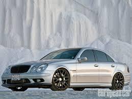 2005 mercedes e55 amg european car magazine