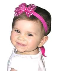 headband with bow abbys bowtique small headband hair bows bows infant