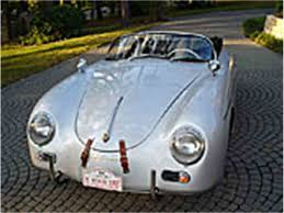 vintage porsche 356 classic porsche speedster for sale on classiccars com