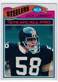 Steel Curtain Football 1977 Topps 1976 Afc All Pro Jack Lambert 480 Football