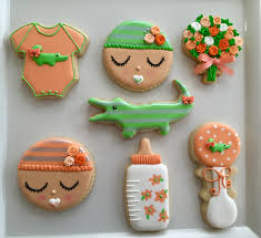 baby shower cookies compulsive foodie