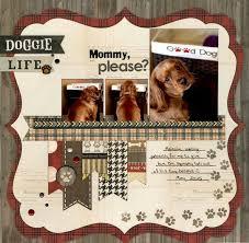 Dog Scrapbook Album 1270 Best Dog Scrapbooking Images On Pinterest Scrapbooking