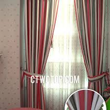 Green Striped Curtains Beautiful Country Toile Beige And Green Striped Curtains