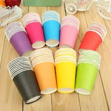 Candy Cups Wholesale Aliexpress Com Buy New 10 Pcs Lot Disposable Paper Cups Plastic