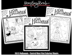 2012 halloween coloring pages cwe mary engelbreit on behance