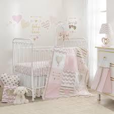 Ebay Crib Bedding Sets by Lambs U0026 Ivy Baby Love Pink Gold Heart 4 Piece Crib Bedding Set Ebay