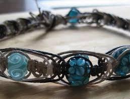 braided hemp necklace images Blue fishbone knots hemp necklace jewelry idea beadage jpg