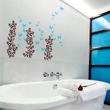 bathroom wall sticker bathroom decor unique wall art tsc