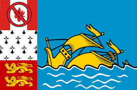 Joan Of Arc Flag St Pierre And Miquelon Uncyclopedia Fandom Powered By Wikia