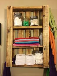 Diy Bathroom Wall Cabinet by Bathroom Cabinets Out Of Pallets Nrtradiant Com
