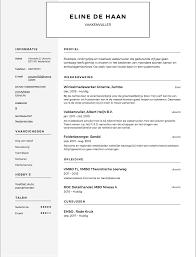 Sjabloon Cv Jobstudent cv voorbeeld vakkenvuller solliciteer net