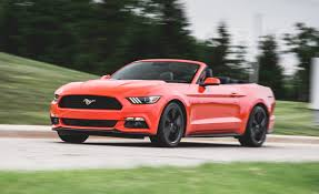 review of 2015 mustang 2015 ford mustang ecoboost convertible test review car and driver